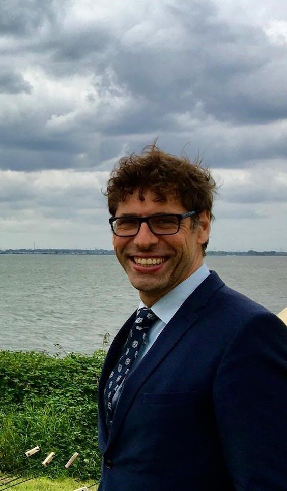 Edward Stigter, Gedeputeerde Noord-Holland (energie en klimaat, GroenLinks).