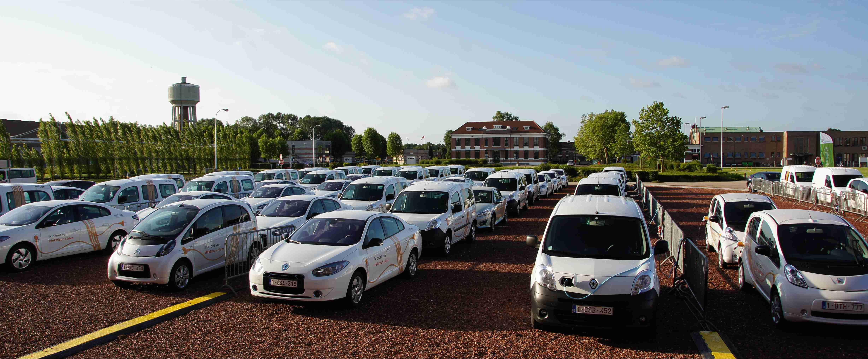 Oplaadfestival Voor 112 Elektrische Wagens Energeia