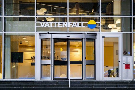 Hoofdkantoor van Vattenfall in Amsterdam Zuid-Oost