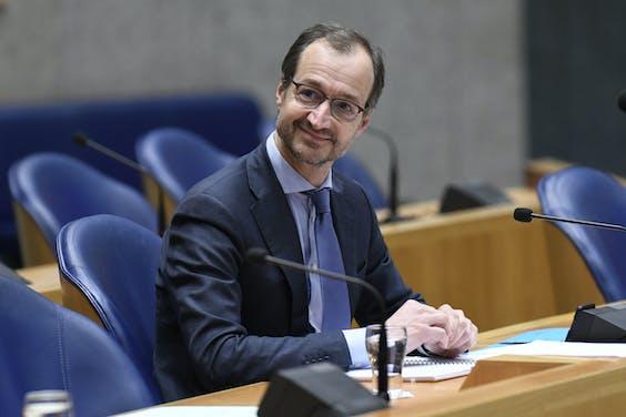Minister Eric Wiebes (Economische Zaken en Klimaat, VVD).