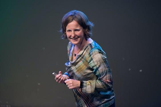 """Astrid Madsen, strategisch adviseur energietransitie bij gemeente Rotterdam: """"We kunnen dit niet aan marktpartijen alleen over laten. Die krijgen deze klus niet voor elkaar."""""""