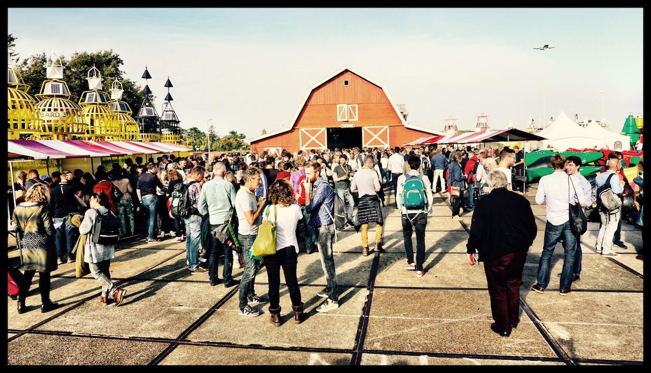 Het duurzaamheidsevenement Springtij op Terschelling duurt drie dagen. Er waren dit jaar ruim negenhonderd mensen aanwezig.