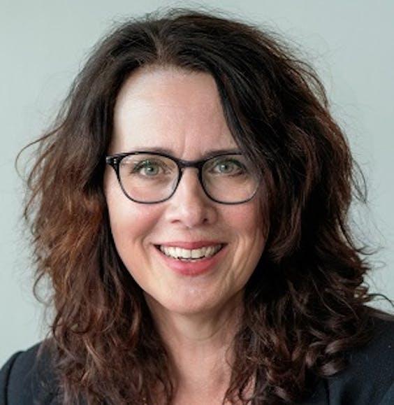 Karin Dekker, wethouder duurzaamheid (GroenLinks) van de gemeente Assen en voorzitter van de G40 themagroep duurzaamheid.